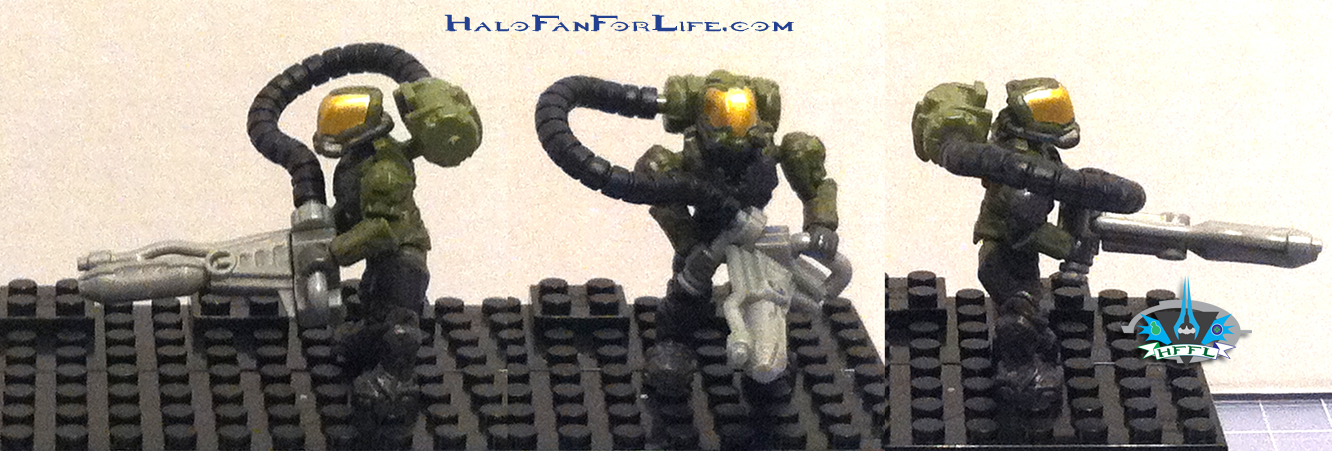 MB Ultimate Combat Pack minifigs Marine 2
