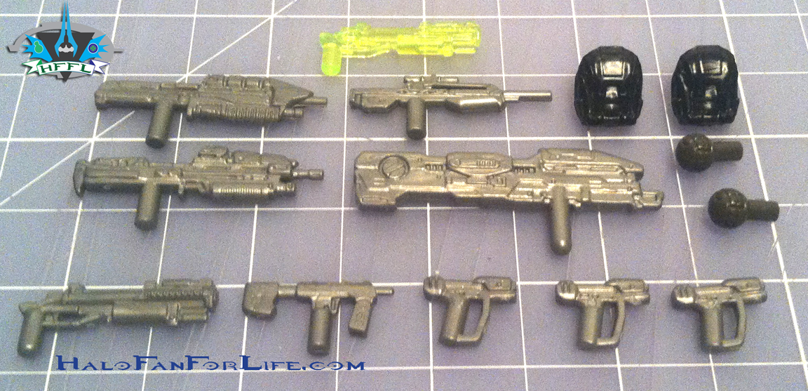 MB Ultimate Combat Pack weapons UNSC
