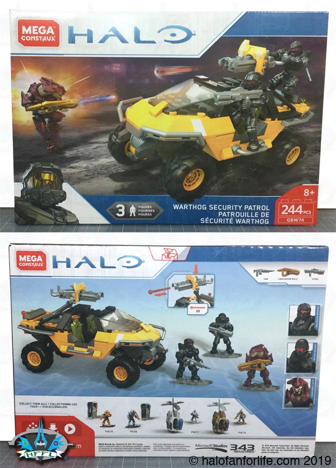 Halo Toy Review: Mega Construx Warthog Security Patrol