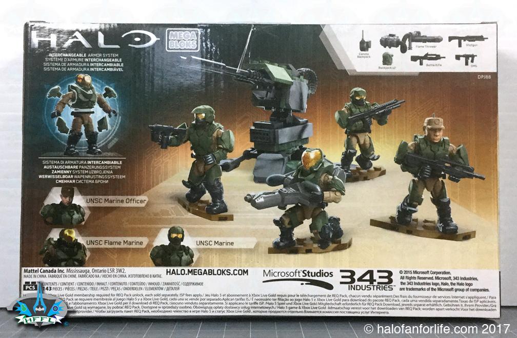 Halo Toy Review Mega Bloks Yankee Squad Halofanforlife