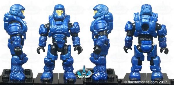 MEGA Cryo Tubes SilBlu Blue Defender