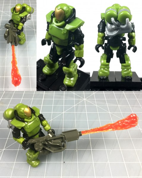 MEGA Marine Customizer Flame detail