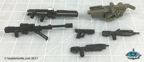 MEGA Marine Customizer weapons