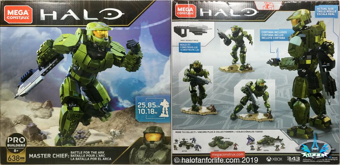 Halo Active Camo Spartan Kat Air Assault Mega Construx 10th Anniversary Series