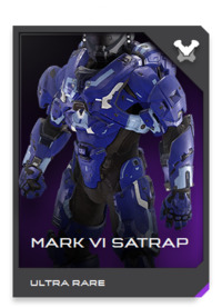 Without question the most famous of all Mjolnir permutations, the GEN2 MARK VI has been completely updated to modern powered assault armor standards.