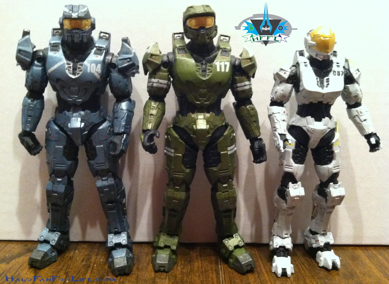 Toy Review Mcfarlane Halo Blue Team Halofanforlife