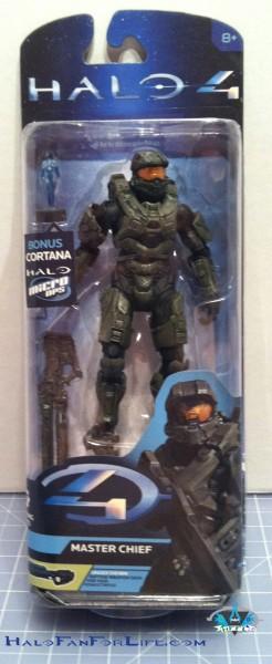 Toy Review: McFarlane Halo 4 series 2 Master Chief w/Cortana