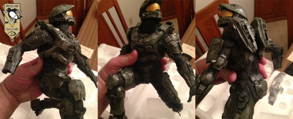 McF Halo 4 Master Chief Statue HELD-