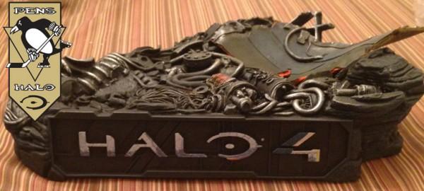 McF Halo 4 Master Chief Statue base SIDE-
