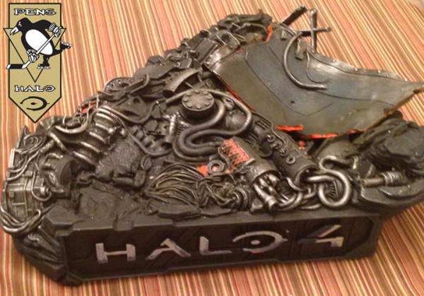 McF Halo 4 Master Chief Statue base TOP-