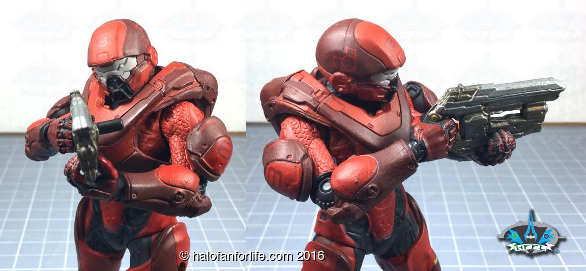 McF Red Athlon Holding Suppressor