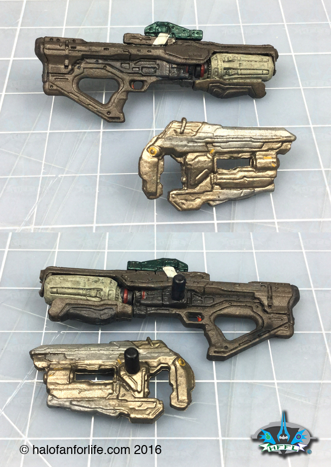 McF Red Athlon weapons