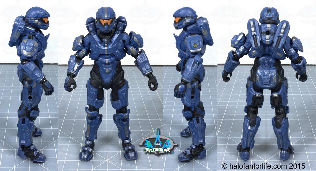 Spartan Thorne Halo 4 Series 3 McFarlane Toys