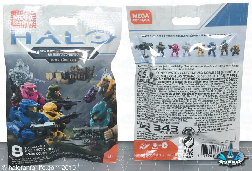 A New Dawn Blind Bags Spartans UNSC Covenant Halo Mega Construx Army builders