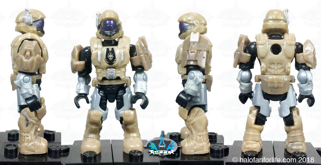 Operation Bronze Cobra Drop Pod Halo Mega Construx Set 57pcs
