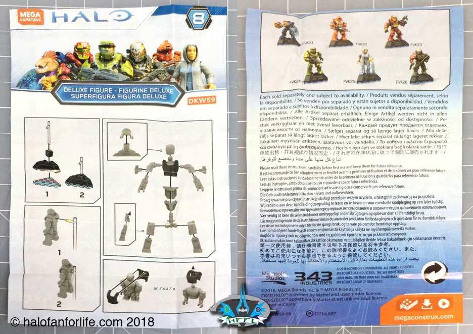 Halo Toy Review: Mega Construx Halo Heroes Series 8 | HaloFanForLife