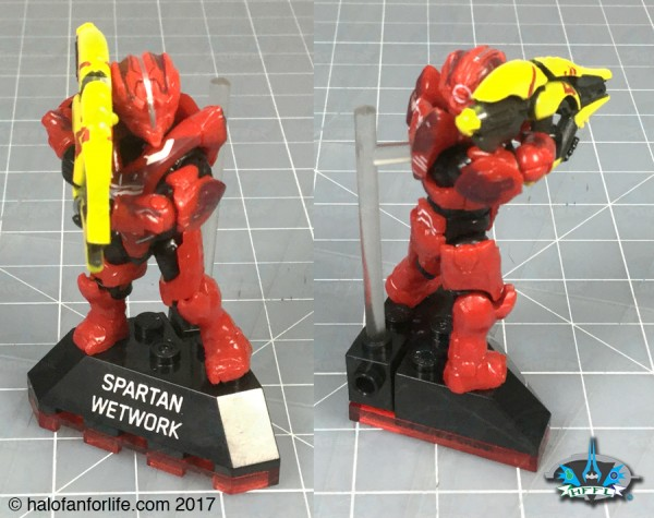 Mega Heroes s4 Stand Wetwork Cleaner