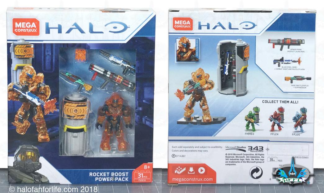Mega Construx Halo Req Station Blue Building Set
