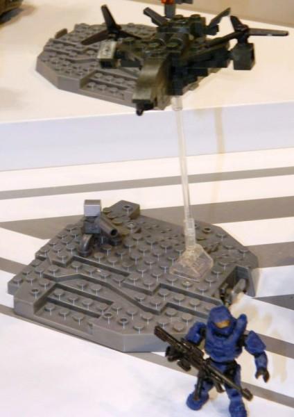 Micro Fleet Falcon Displayed