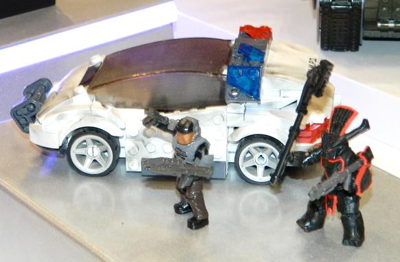 NMPD Police Car Display