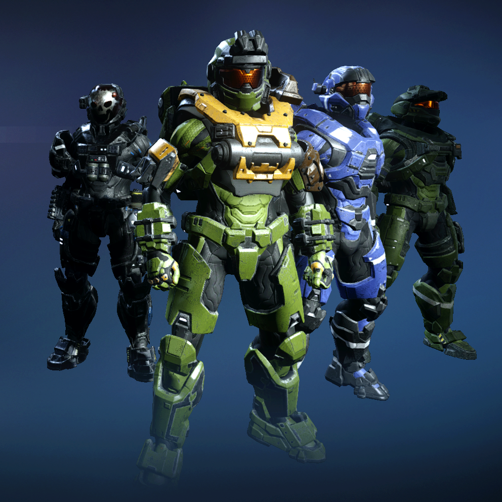 Noble Team Halo 5 bright