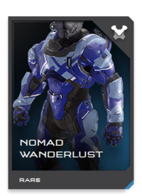Remote expeditions outside charted Covenant and UNSC space are exceptional, but not without precedent. NOMAD armor features a modular data bus that can power and integrate a wide range of scientific sensors when Spartans are deployed on away teams.