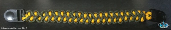 Paracord Master Chief 1 length