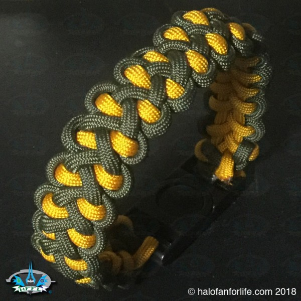 Paracord Master Chief 2 round
