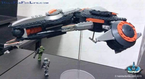 Phaeton Gunship Front Left 3-4 Side