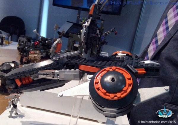 Phaeton Gunship Front Left Side
