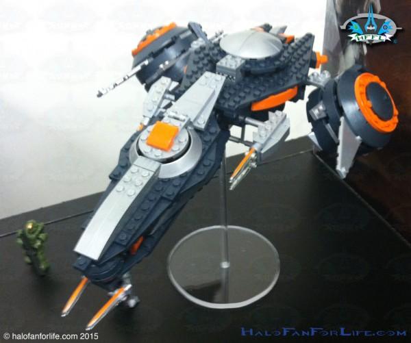 Phaeton Gunship Front Left Top