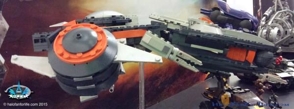 Phaeton Gunship Front Right Side