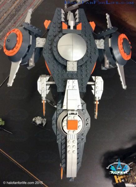 Phaeton Gunship Front Top