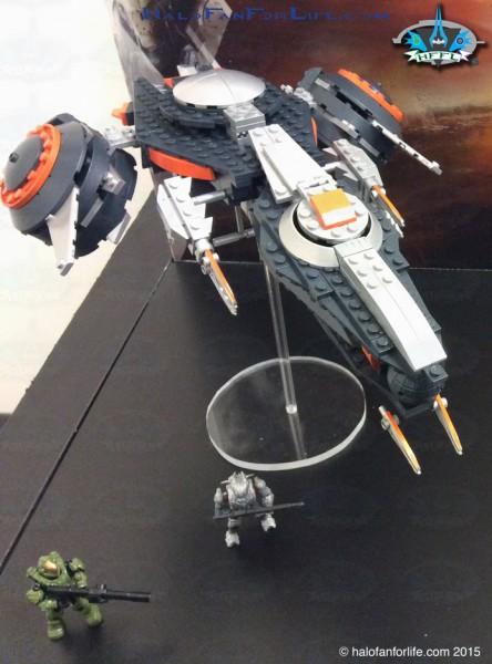 Phaeton Gunship Front Top Side