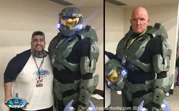 RTX2017 41 Me and Master Chief
