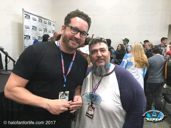 RTX2017 43 Me and Burnie Burns