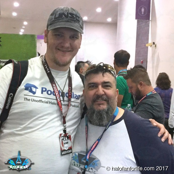 RTX2017 48 Dustin and me