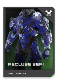 The RECLUSE does not appear in any UNSC logistics tracking system, nor does it bare any manufacturing markings. It is a suit that doesn't exist, created for missions that never happened, by Spartans who never were.