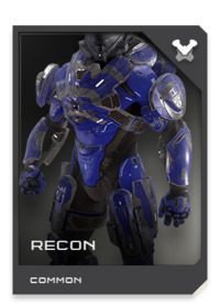 RECON armor is fitted with emissions baffling and passive electronic support activity sensors for observation missions behind enemy lines.