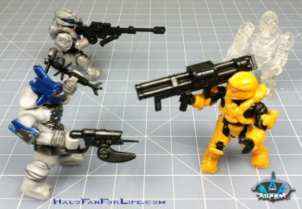 SA Battle Pack Action