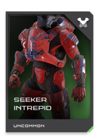 SEEKER-class armor has a full suite of signature masking mechanisms to help Spartan reconnaissance fireteams avoid dangerous encounters and unwanted attention.