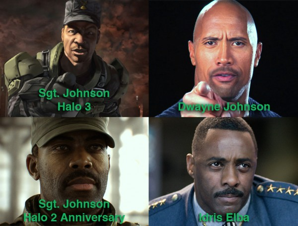 Sgt Johnson Actors