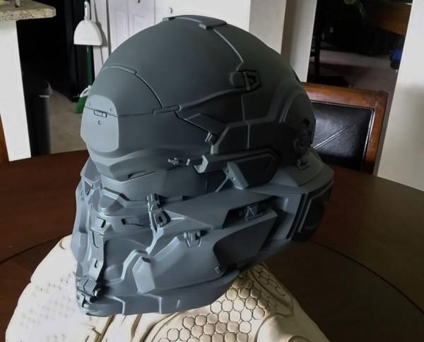 Spartan Locke Helmet WIP 1