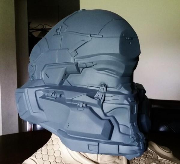 Spartan Locke Helmet WIP 10