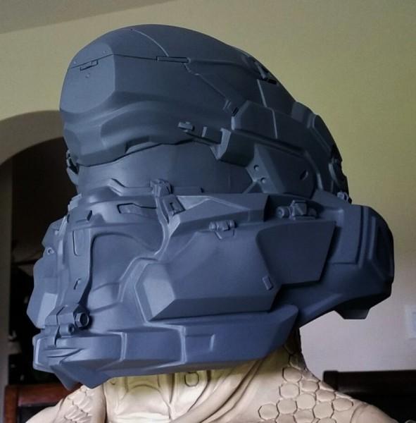 Spartan Locke Helmet WIP 3