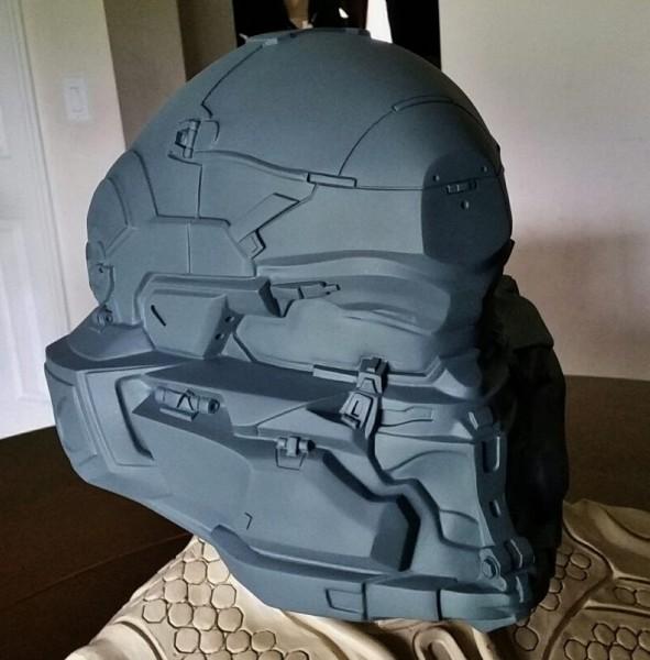 Spartan Locke Helmet WIP 5
