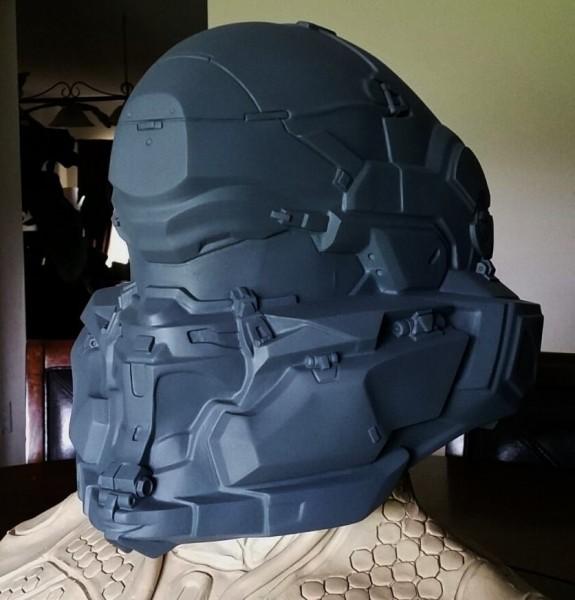Spartan Locke Helmet WIP 6