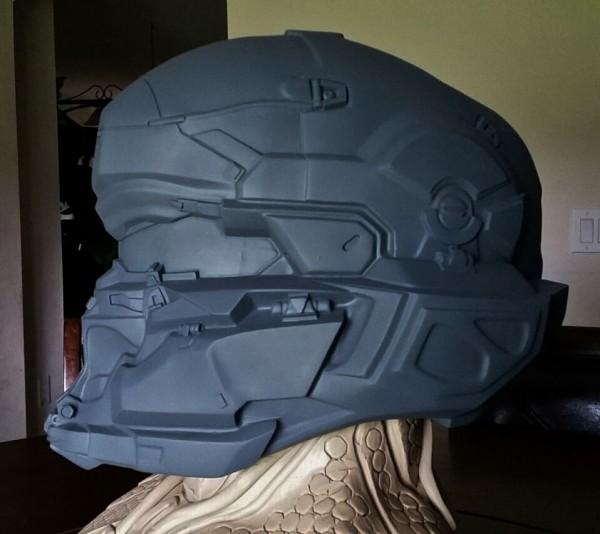 Spartan Locke Helmet WIP 7