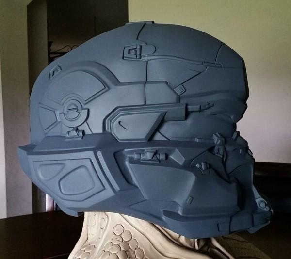 Spartan Locke Helmet WIP 9