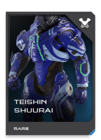 Designed for a new breed of augmented soldier serving in paramilitary forces and clandestine agencies, TEISHIN suits are at the cutting edge of privately developed powered assault armor technology.